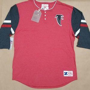 Mitchell & Ness Atlanta Falcons Raglan T-Shirt XXL
